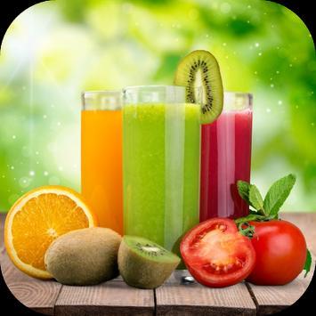Jugos o zumos naturales Poster