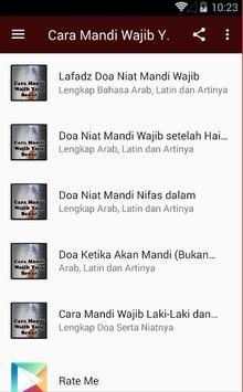 Cara Mandi Wajib Yang Benar apk screenshot