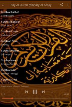 Al-Quran Mishary Al-Afasy screenshot 2
