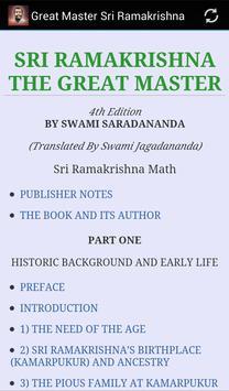 Great Master Sri Ramakrishna poster