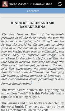 Great Master Sri Ramakrishna apk screenshot