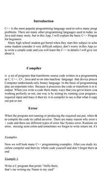 C++ for beginners pdf screenshot 2