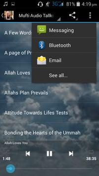 Mufti Ismail Menk videos apk screenshot