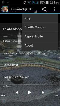 Sajid Umar Audio Lecture MP3 screenshot 3