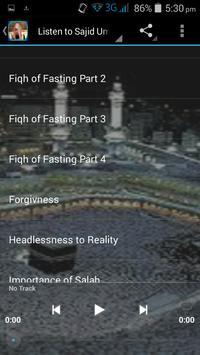 Sajid Umar Audio Lecture MP3 screenshot 1