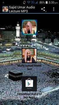 Sajid Umar Audio Lecture MP3 screenshot 4