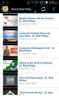 Bilal Philips Islamic Videos screenshot 2