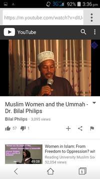 Bilal Philips Islamic Videos apk screenshot