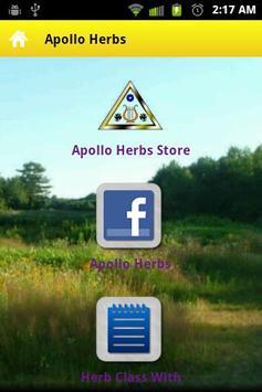 Apollo Herbs poster