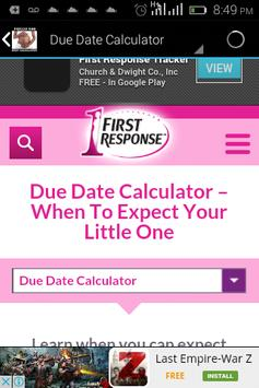 Period And Baby Calculator For Android Apk Download