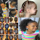 KIDS HAIRSTYLES AND BRAIDS icon