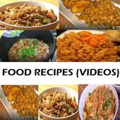 FOOD RECIPES (VIDEOS) icon