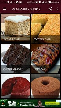 ALL BAKING RECIPES poster