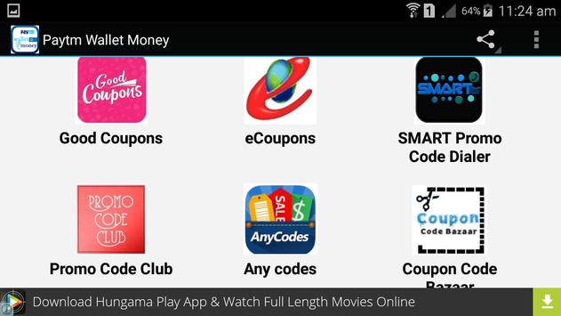 Paytm Wallet Money apk screenshot