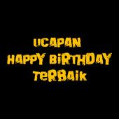 UCAPAN HAPPY BIRTHDAY TERBAIK icon