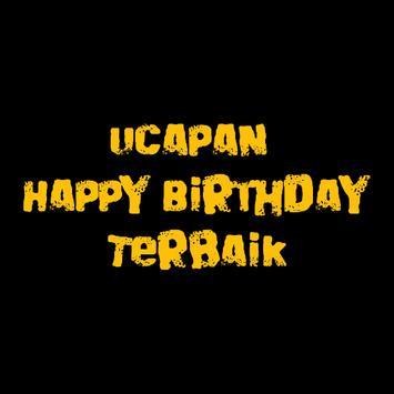 UCAPAN HAPPY BIRTHDAY TERBAIK poster