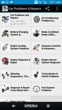Car Problems and Repairs poster