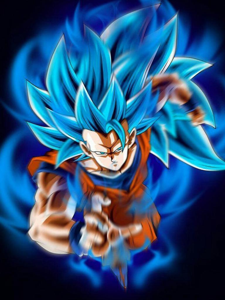 Goku Super Saiyan God Blue Wallpaper For Android Apk Download
