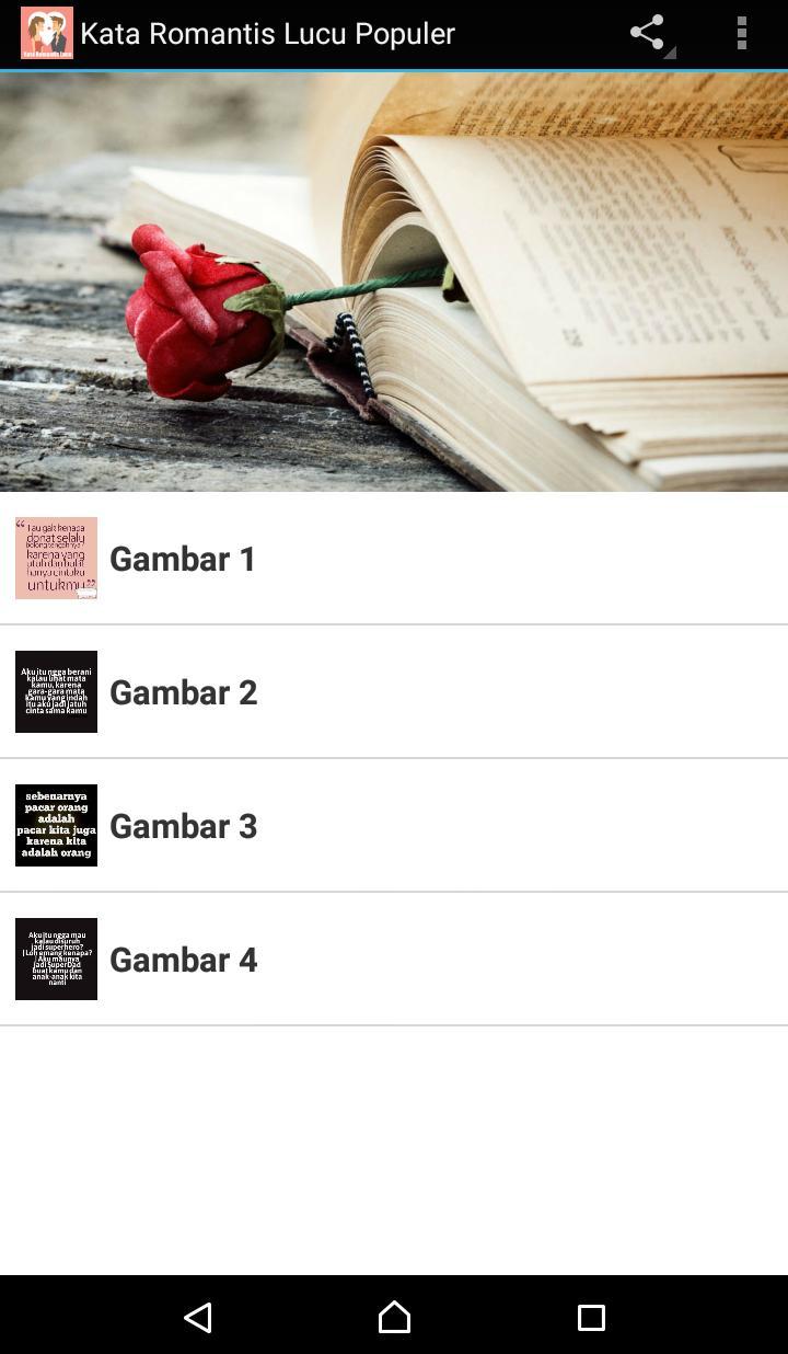 Kata Lucu Romantis Populer For Android APK Download