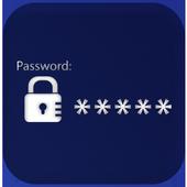 Password hacker prank icon