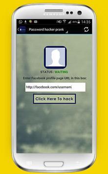 Password hacker prank poster