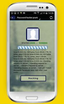 Password hacker prank screenshot 1