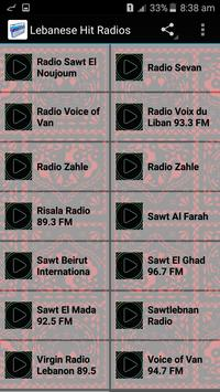 Lebanese Hit Radios apk screenshot
