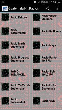 Guatemala Hit Radios apk screenshot