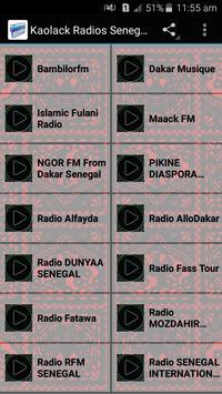 Kaolack Radios Senegal poster