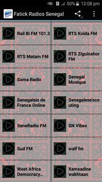 Fatick Radios Senegal poster
