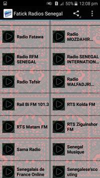 Fatick Radios Senegal screenshot 1