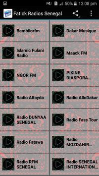 Fatick Radios Senegal apk screenshot