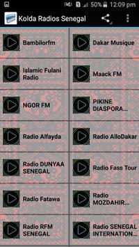 Kolda Radios Senegal poster