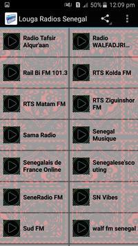 Louga Radios Senegal apk screenshot
