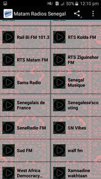 Matam Radios Senegal apk screenshot
