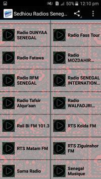 Sedhiou Radios Senegal screenshot 1