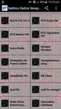 Sedhiou Radios Senegal apk screenshot