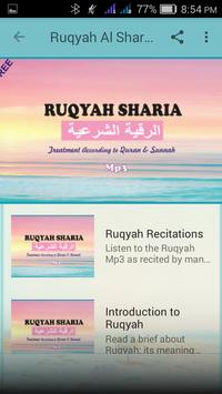 Ruqyah Al Shariah Mp3 screenshot 1