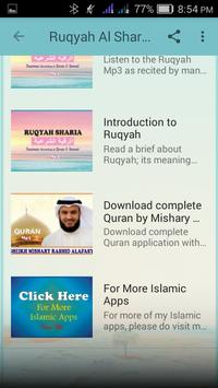Ruqyah Al Shariah Mp3 screenshot 2