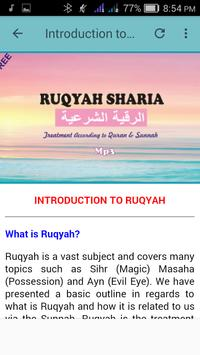 Ruqyah Al Shariah Mp3 screenshot 5
