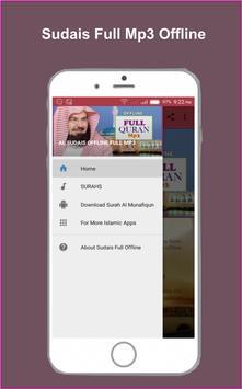 Sudais Full Offline Quran Mp3 poster