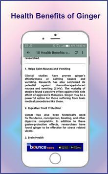Ginger Uses & Benefits screenshot 3