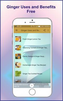 Ginger Uses & Benefits screenshot 2