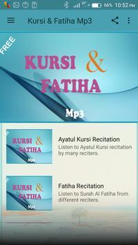 Ayatul Kursi & Fatiha Mp3 poster
