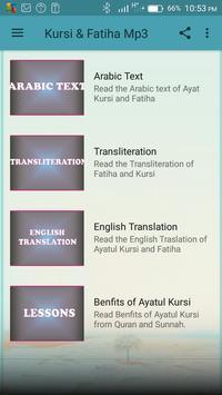 Ayatul Kursi & Fatiha Mp3 screenshot 1