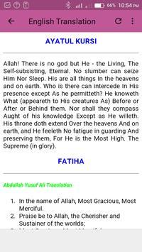 Ayatul Kursi & Fatiha Mp3 screenshot 6