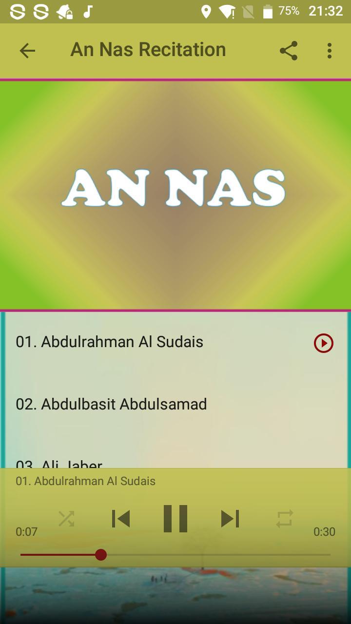 3 Qul Surahs Mp3 for Android - APK Download