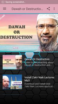 Dawah or Destruction-Naik apk screenshot