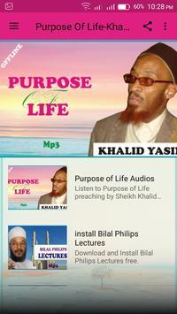 Purpose Of Life-Khalid Yasin screenshot 1