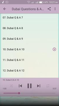 Dubai Questions & Answers Mp3 apk screenshot